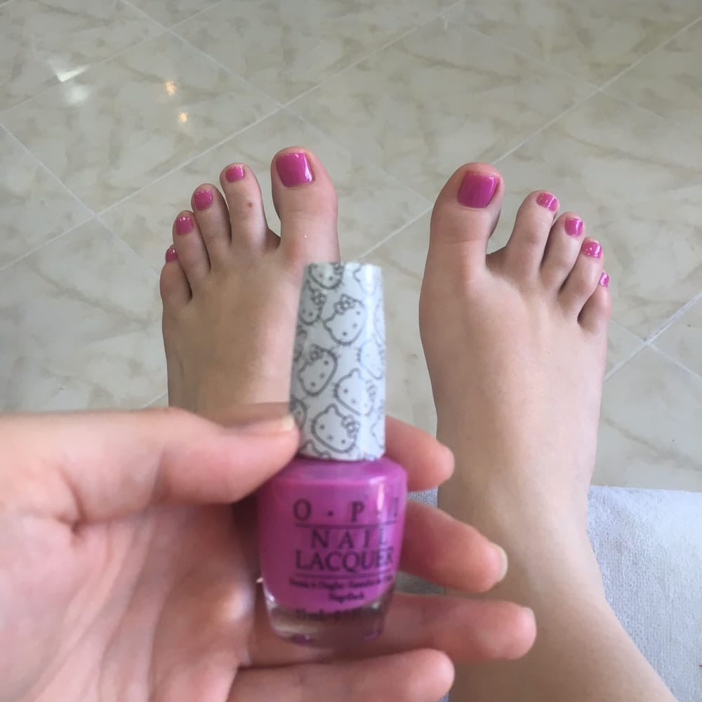 Nail Salons West Los Angeles: Cute Toes! :)
