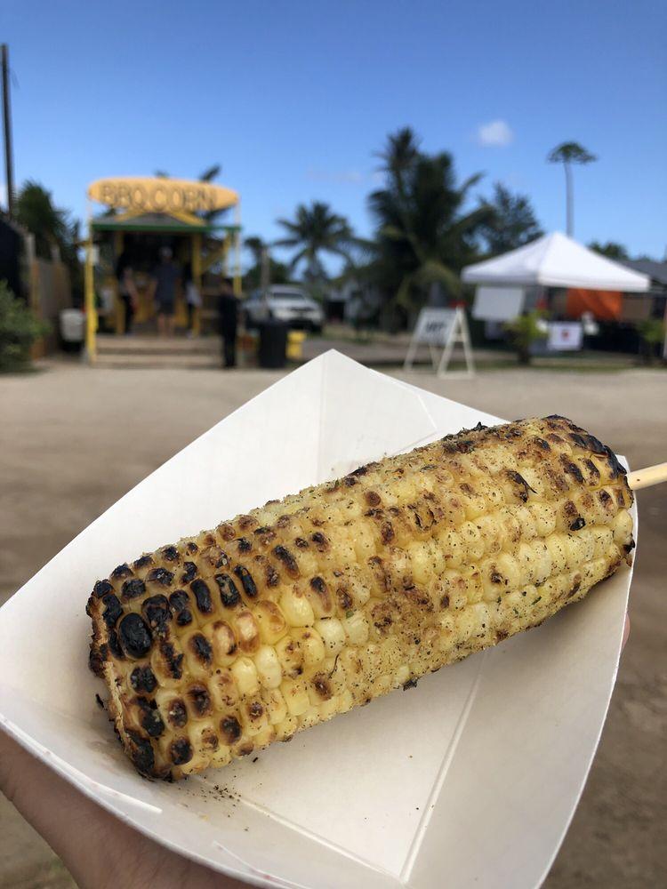 Uncle Woody's BBQ Corn: 56-505 Kamehameha Hwy, Kahuku, HI