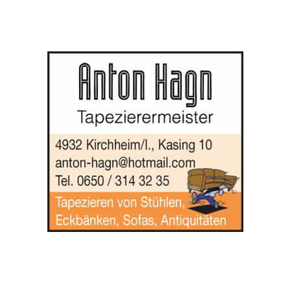 anton hagn tapeziermeister polsterei kasing 10 kasing ober sterreich sterreich. Black Bedroom Furniture Sets. Home Design Ideas
