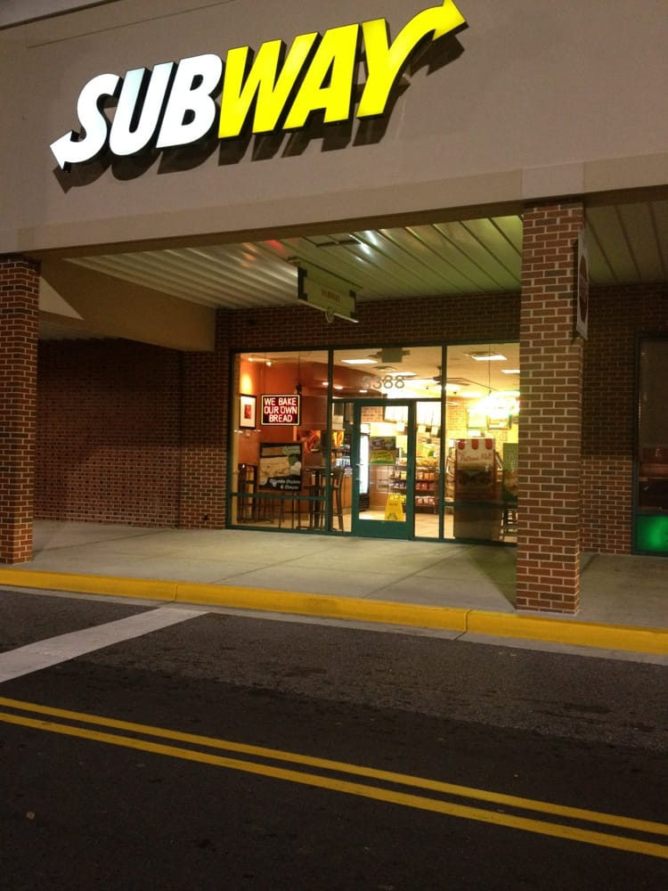 Subway: 3388 Donnell Dr, District Heights, MD