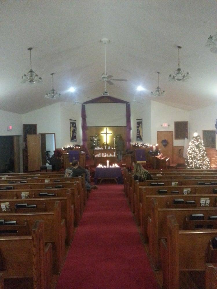 Adair United Methodist Church: 310 N Cheatham, Adair, OK