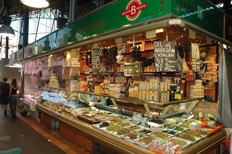 Olives francesc mercati ortofrutticoli la rambla 91 for B b barcellona vicino ramblas