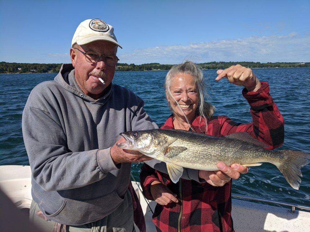 lucky buck fishing charters: 6783 Morezak Rd, LaFayette, NY