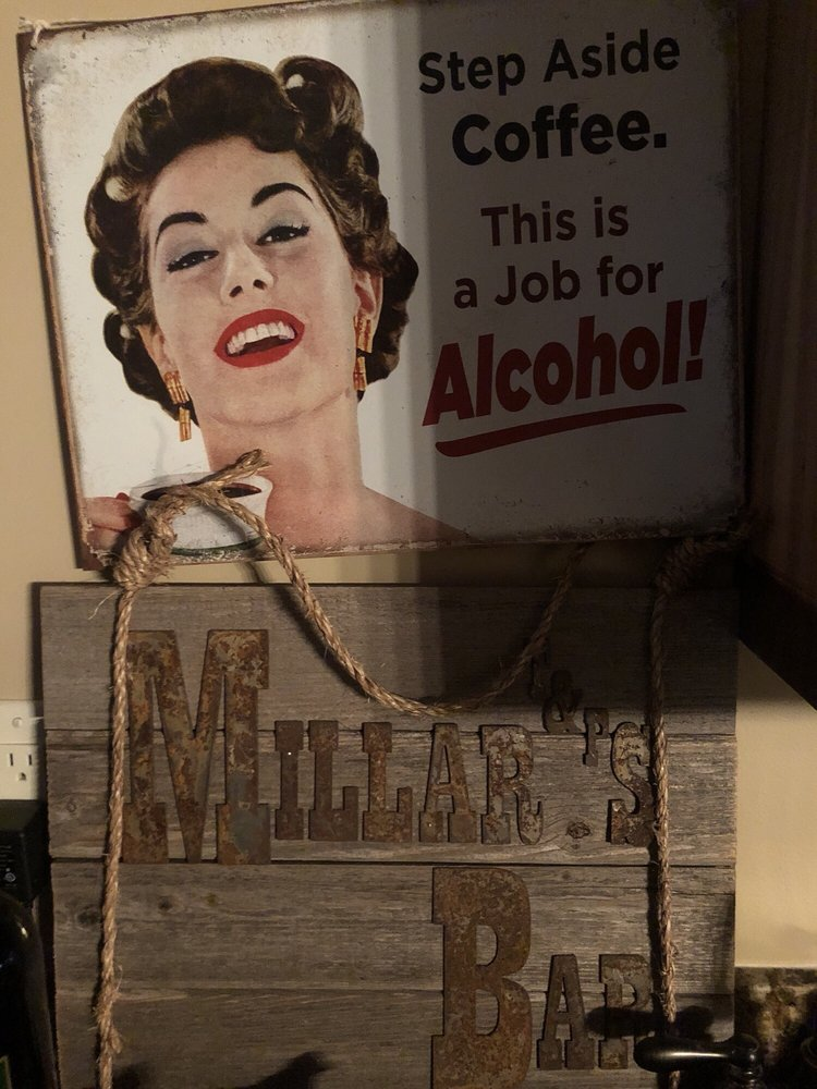 Millar's Bar: Cedar Crest Rd, Iron River, WI