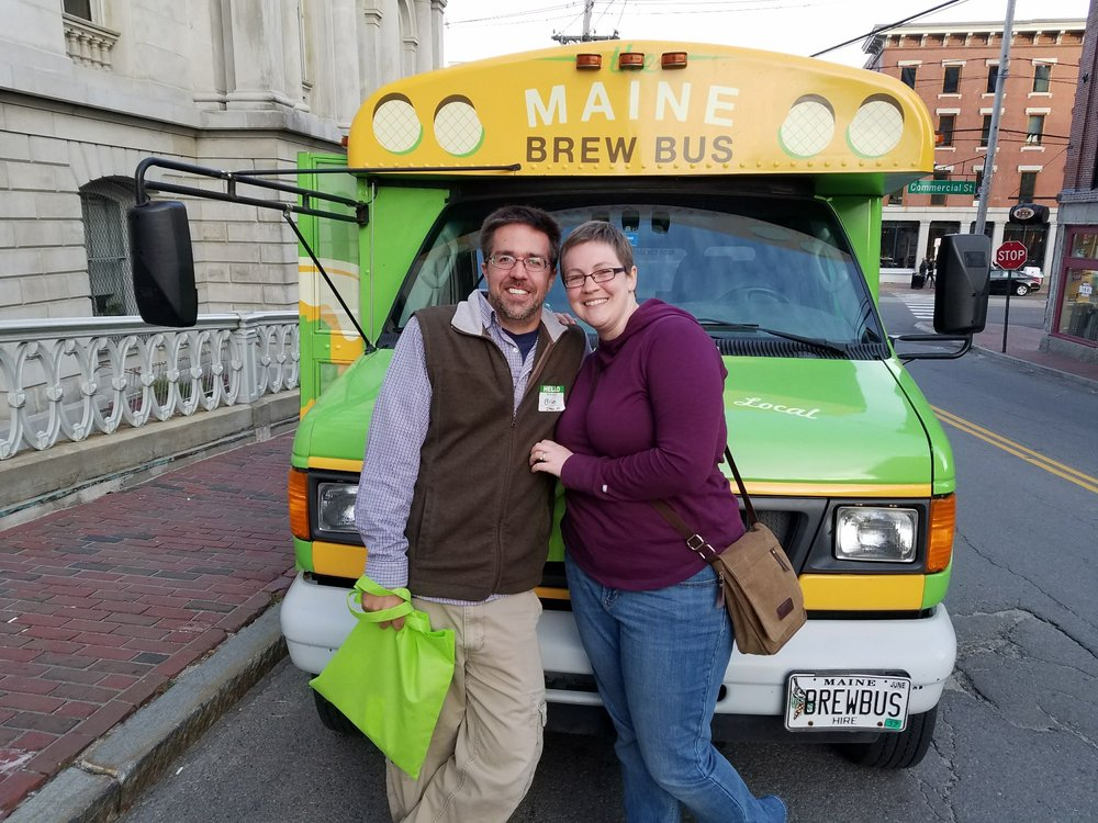 The Maine Brew Bus: 79 Commercial St, Portland, ME