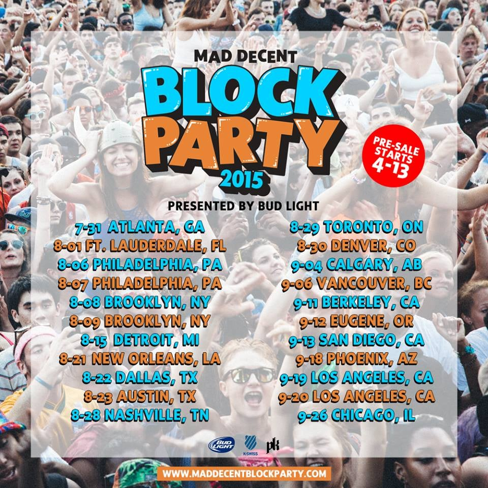 The Mad Decent Block Party