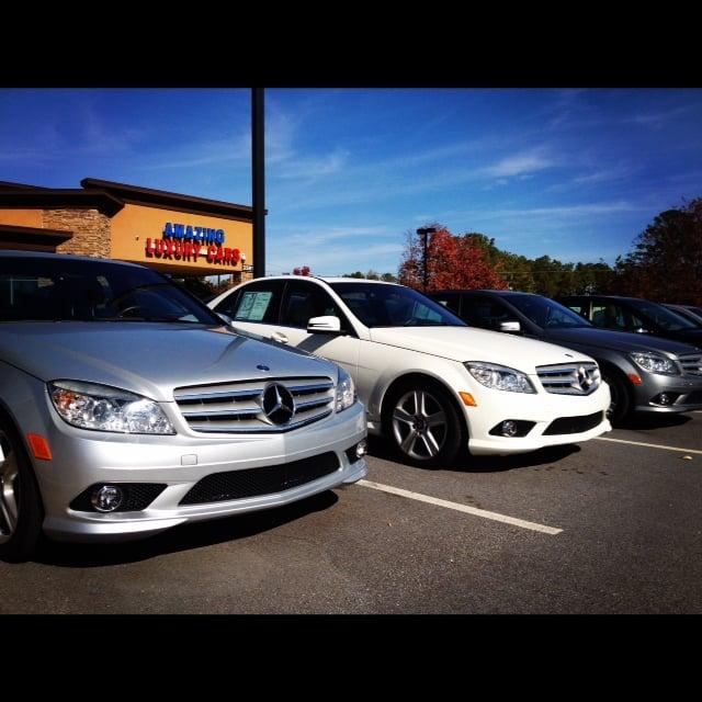 Luxury Car Lot: Amazing Luxury Cars