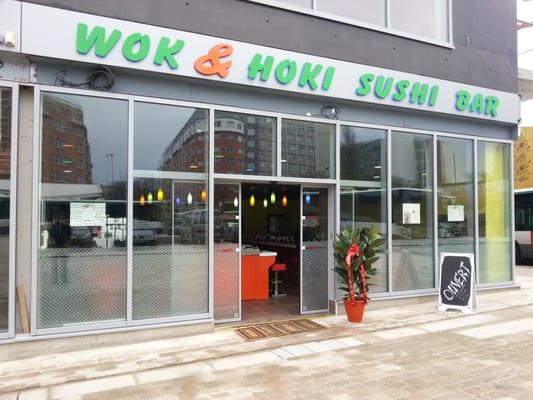 wok hoki sushi bar japanese paris france reviews yelp. Black Bedroom Furniture Sets. Home Design Ideas