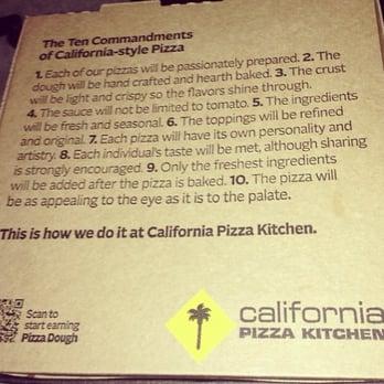 California Pizza Kitchen Frozen Pizza Instructions california pizza kitchen - 44 photos & 51 reviews - pizza - 5665 n