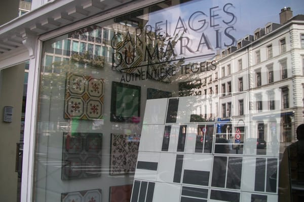 Carrelage du marais flooring rue de l 39 h pital 3 5 for Intercarro carrelage bruxelles