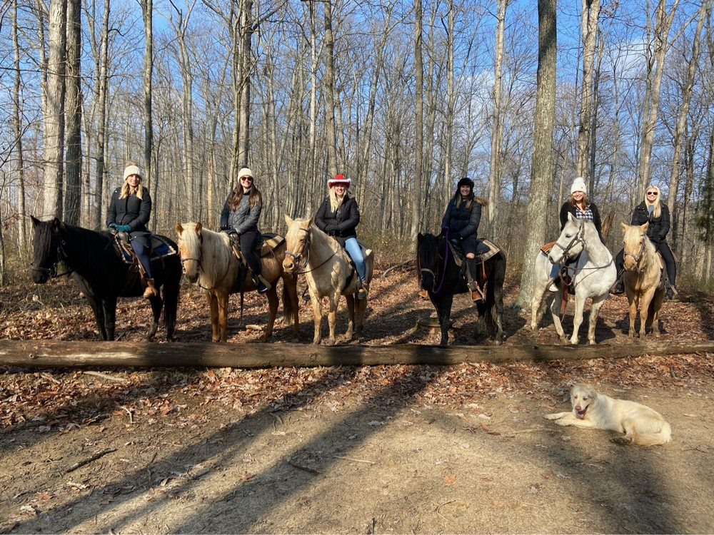 Ben's Happy Trails Riding Stable & Campground: 3494 Big Spruce Rd, Otway, OH