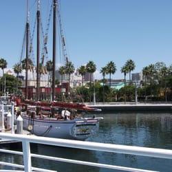 Photo Of Harbor Breeze Cruises Long Beach Ca United States Dock Area
