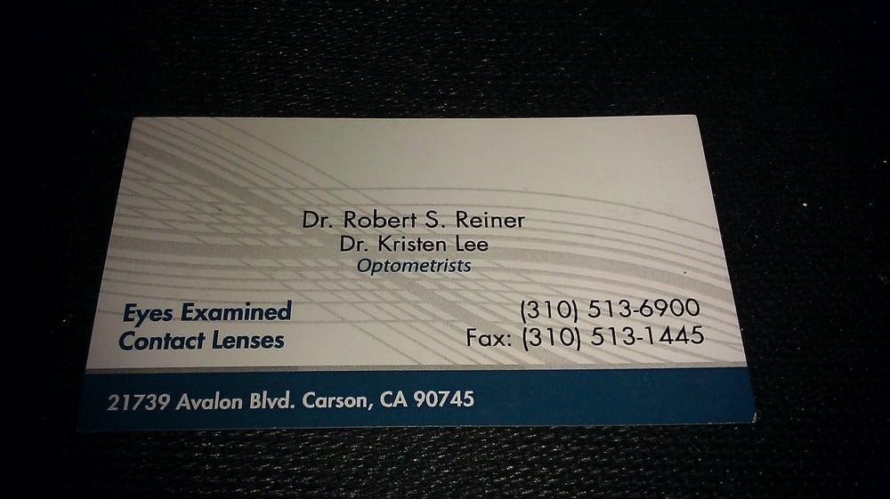 Kristen Lee, OD - 13 Reviews - Optometrists - 21739 Avalon Blvd ...