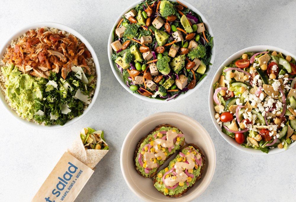 Food from Yelp Elite Week: Just Salad