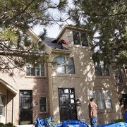 Installing IR Photo Of Citywide Roofing U0026 Exteriors   Denver, CO, United  States.