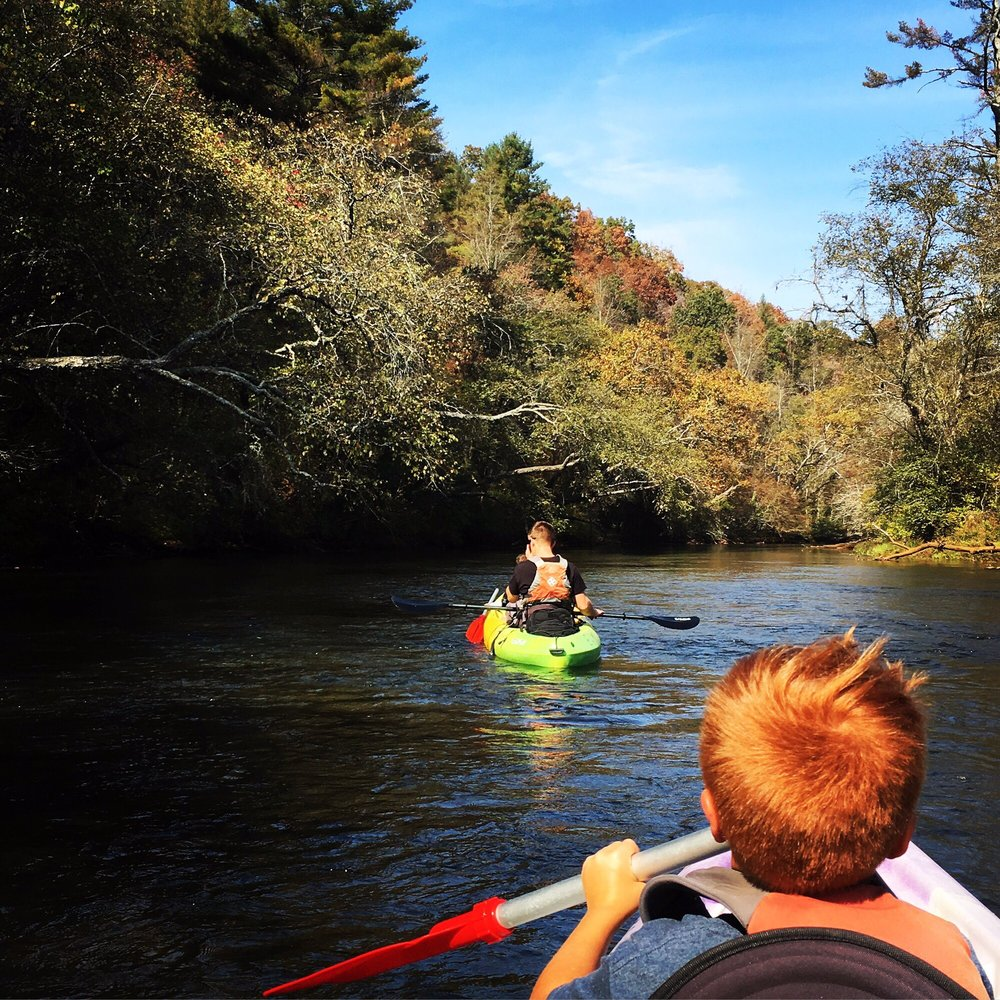 Blue Ridge Mountain Kayaking