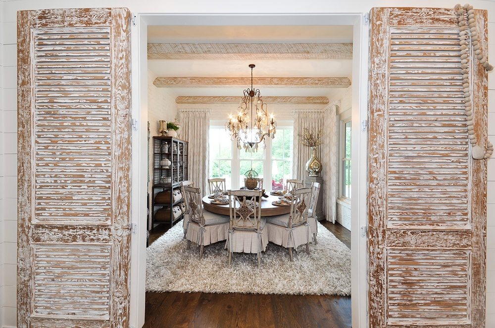 Farmhouse Style Dining Room By The Outrageous Interiors Design Team Yelp
