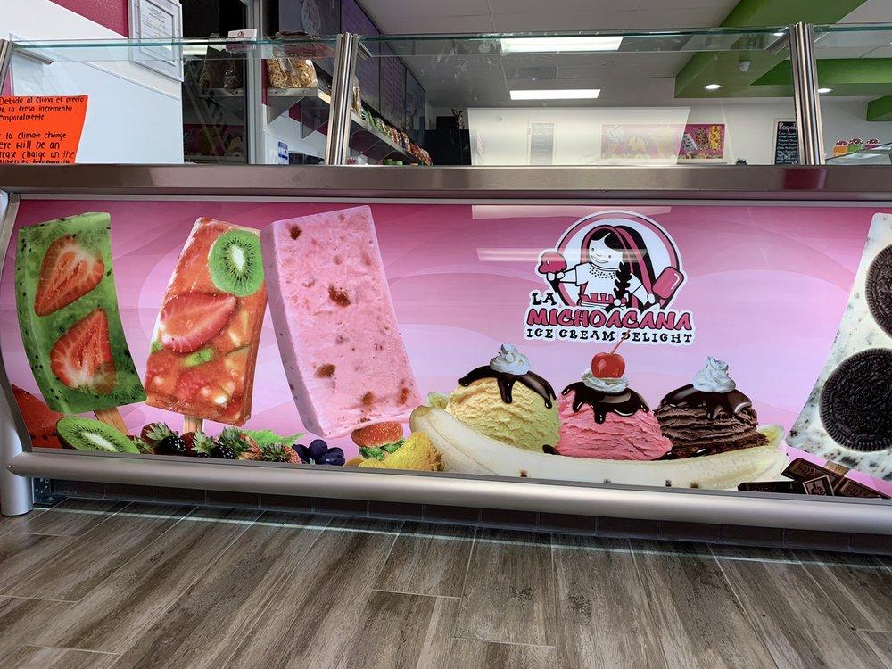 La Michoacana Ice Cream Delight: 1123 S Harbor Blvd, Fullerton, CA