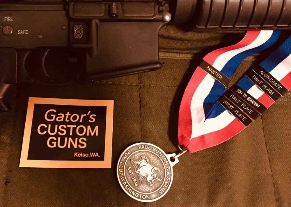 Gators Custom Guns: 300 N 1st Ave, Kelso, WA