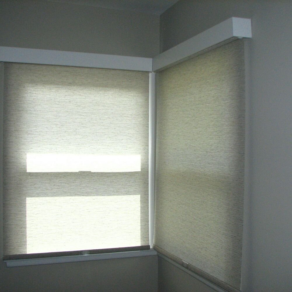 Roller Shades A Perfect Fit For Corner Windows Loving It