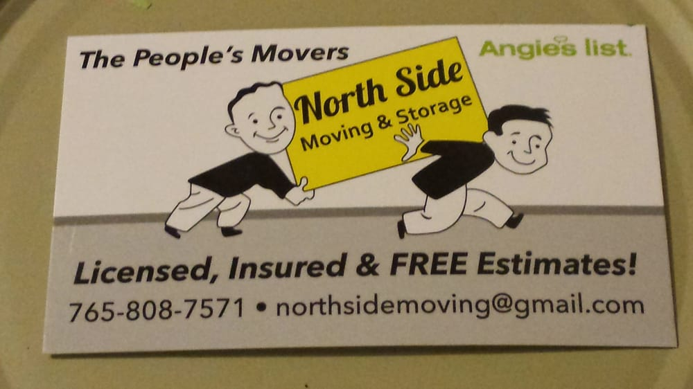 North Side Moving & Storage: 4400 N State Rd 9, Anderson, IN