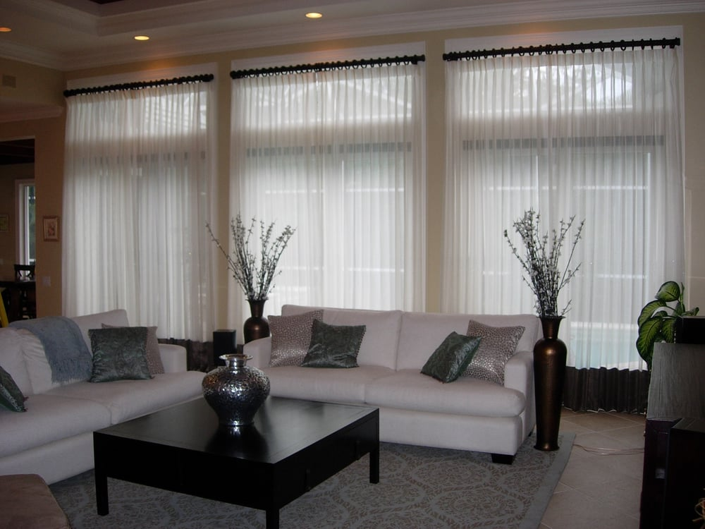 Window Treatments Naples Fl Part - 25: Photo Of Shady Lady Window Treatments - Naples, FL, United States.  Beautiful Banded