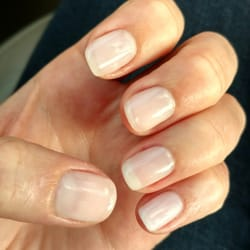 Photo Of Natural Nails Peoria Il United States Cnd Shellac Manicure By