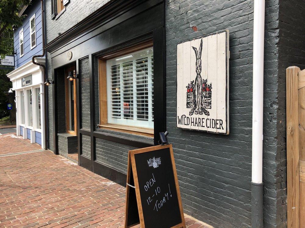 Wild Hare Hard Cider: 63 Main St, Warrenton, VA