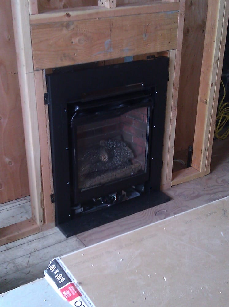 Gas Direct Vent Fireplace Installation San Francisco Ca Yelp
