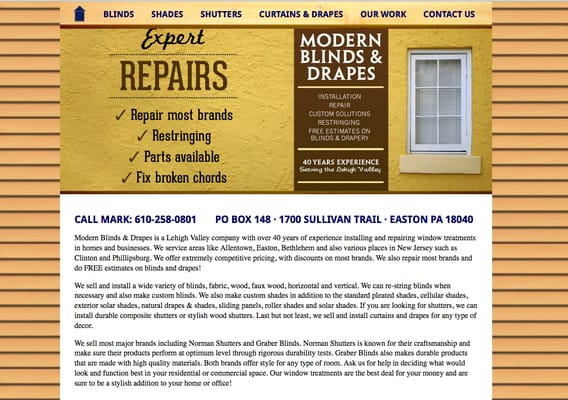 Curtains Ideas commercial curtains and drapes : Modern Blinds and Drapes - Shutters - Easton, PA - Phone Number - Yelp