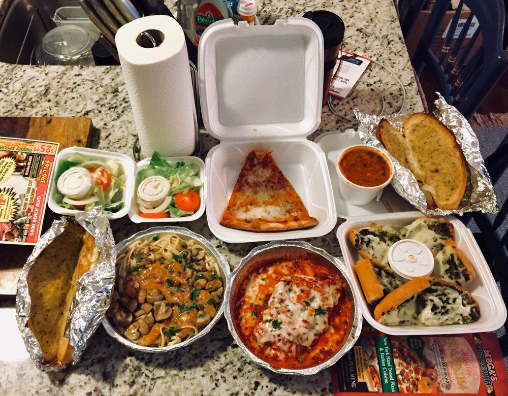 Mega's Pizzeria: 5800 Beach Blvd, Jacksonville, FL