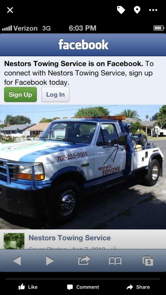 Towing business in Santa Rosa, CA
