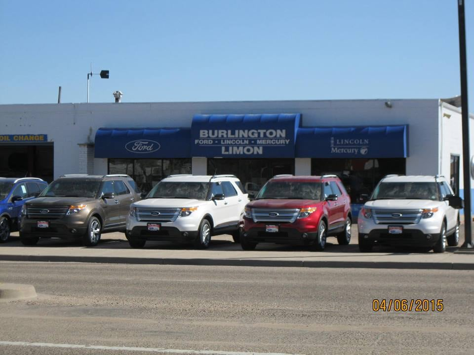 Burlington Ford-Lincoln: 1975 Rose Ave, Burlington, CO