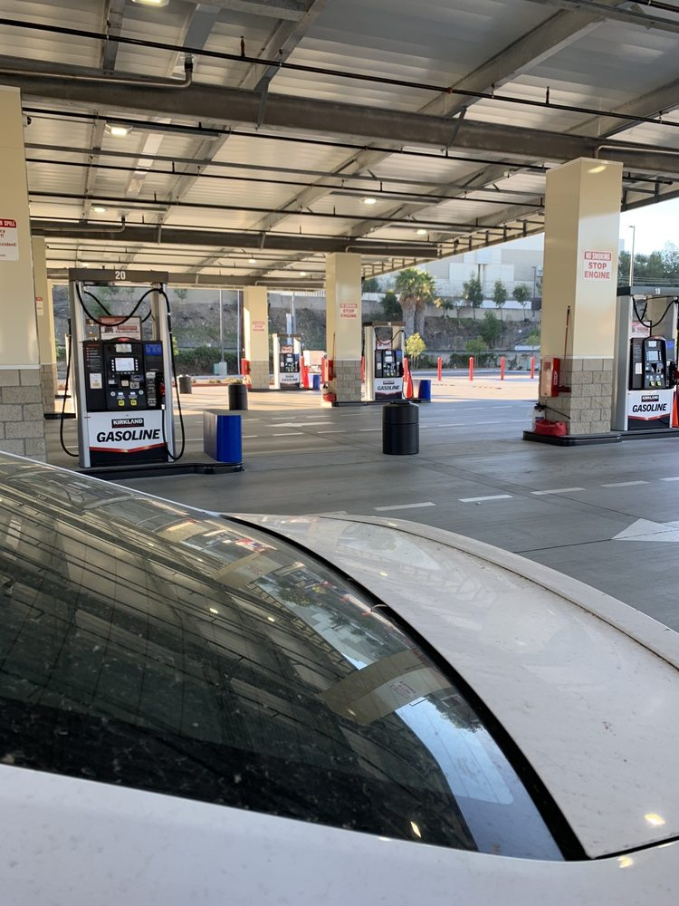 Costco Gas: 8165 Fletcher Pkwy, La Mesa, CA