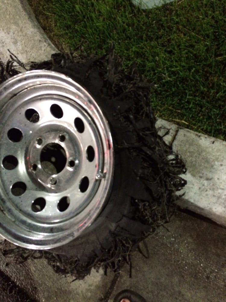 Used Trailer Tires Were 8 Years Old 3 Blowouts First Long