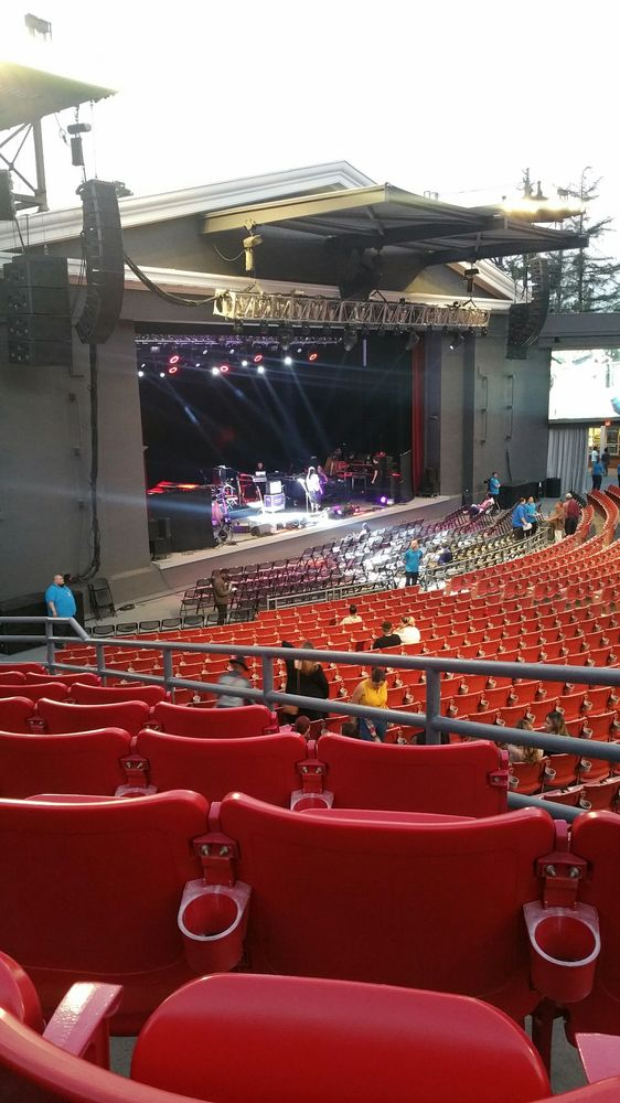 Here For The Lauryn Hill Concert View Is From Hh Seats 13