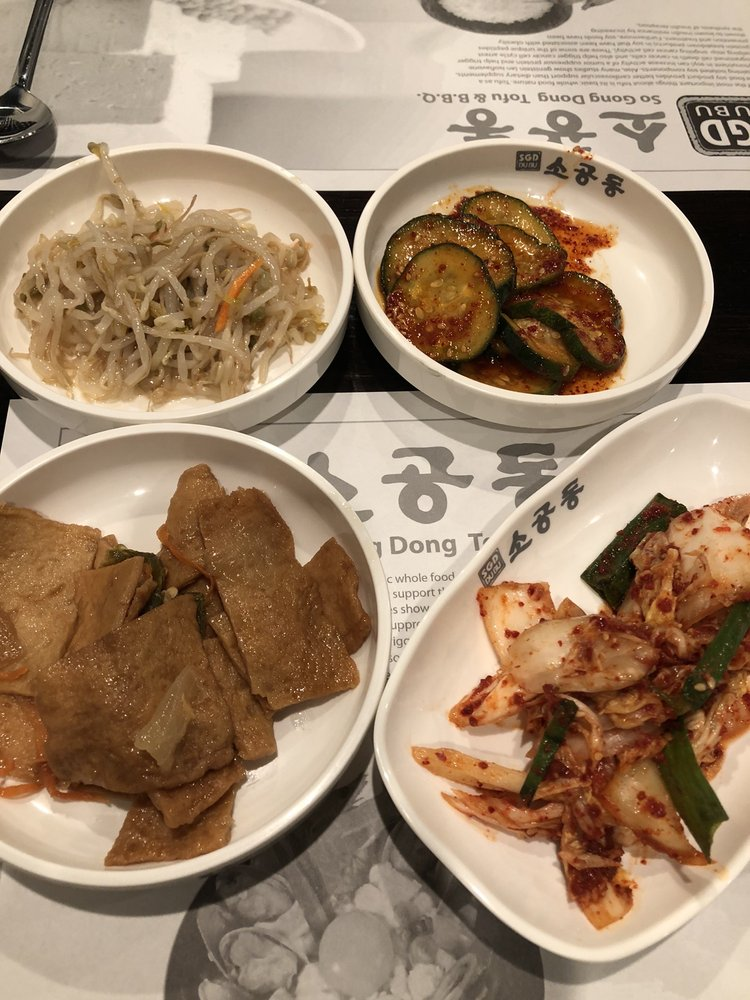 Food from So Gong Dong Tofu and Korean BBQ