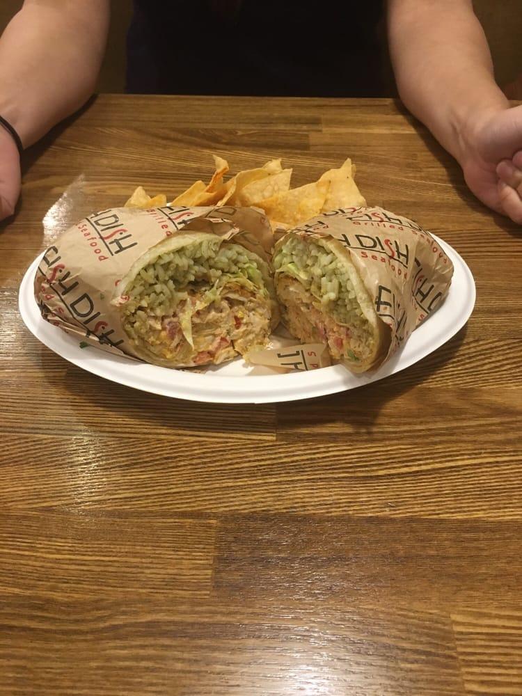 It 39 S The Mahi Mahi Cajun Style Burrito And It Smells