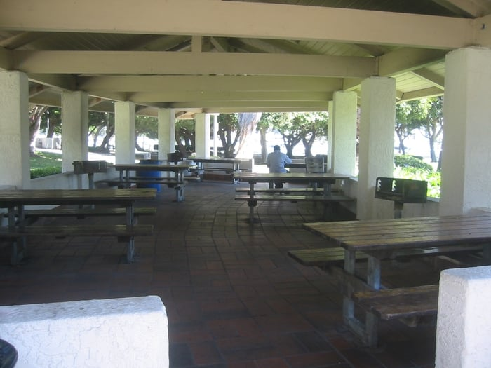 One of the large picnic bbq areas yelp for Deep sea fishing marina del rey