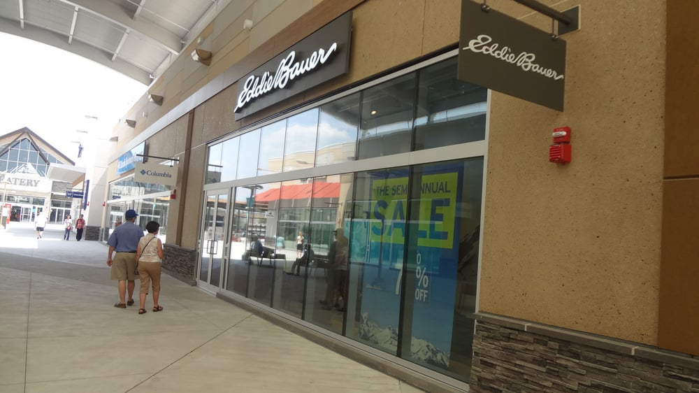 Eddie Bauer Outlet Stores Locations