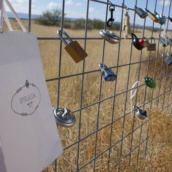 Photo Of Prada Marfa   Valentine, TX, United States. The Fence Out Back