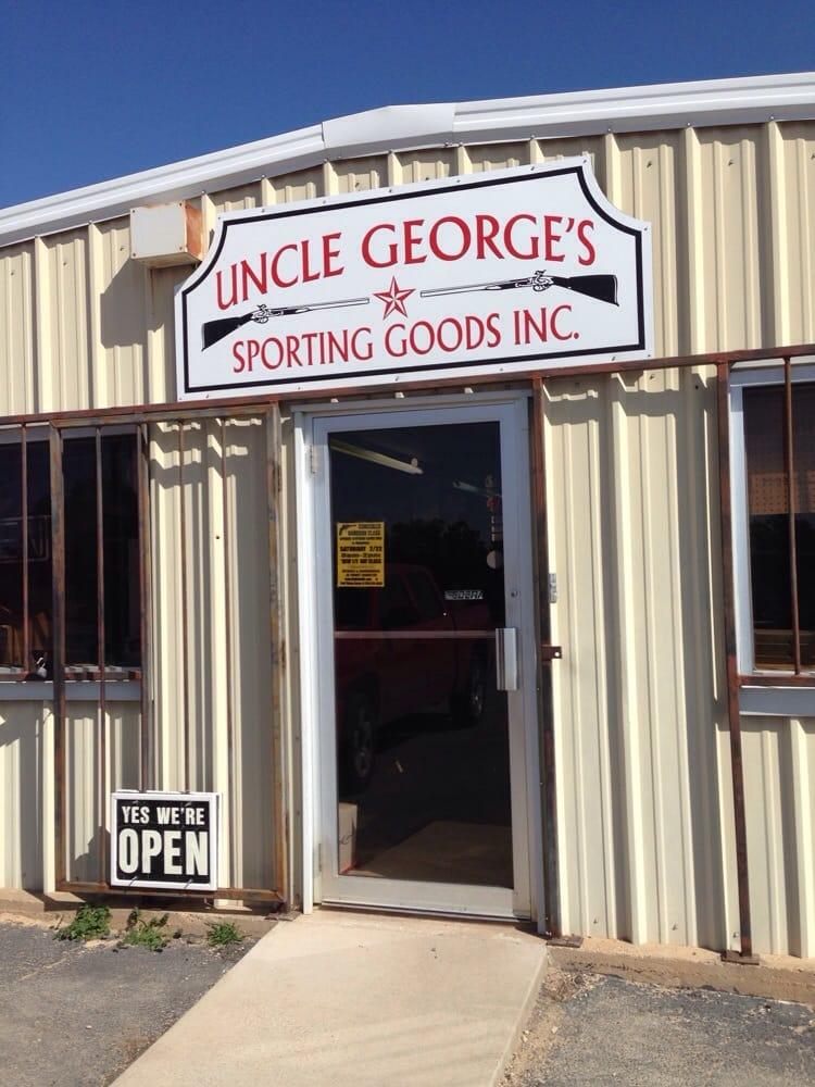 Uncle George's Sporting Goods: 4384 S Hwy 144, Glen Rose, TX