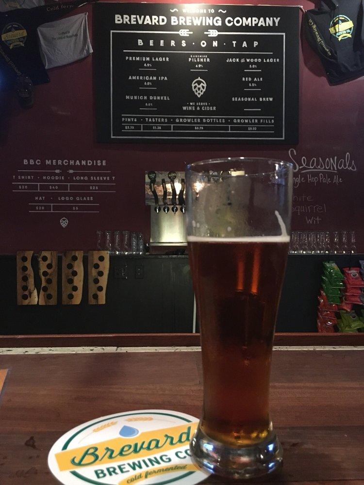 Brevard Brewing: 63 E Main St, Brevard, NC