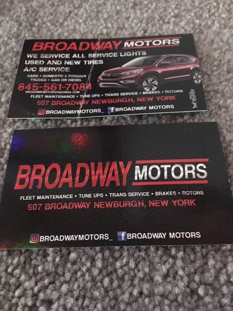 Broadway Motors & Repair: 507 Broadway, Newburgh, NY