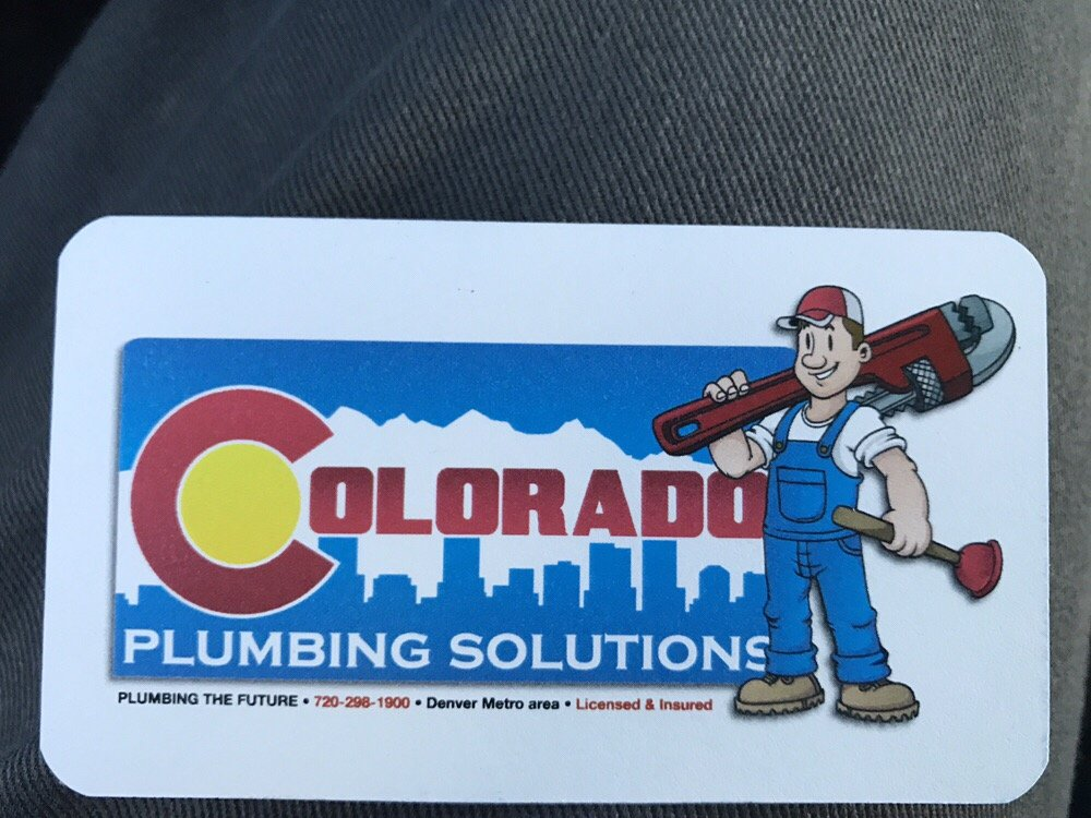 Photos For Colorado Plumbing Solutions Yelp