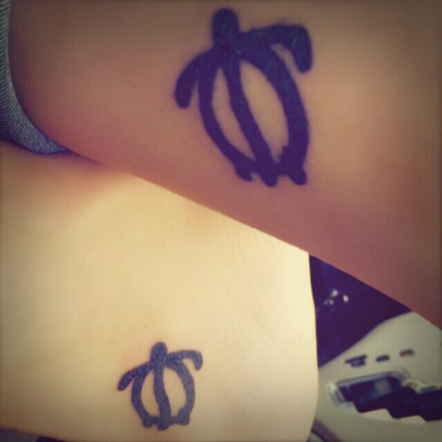Matching tattoos big sister little sister yelp for Big sister and little sister tattoos