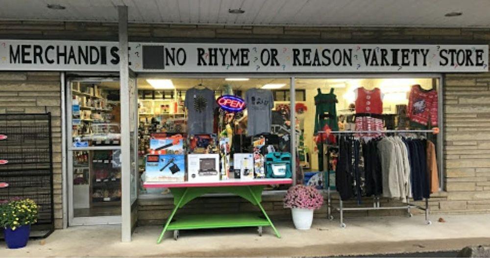 No Rhyme or Reason Variety Store: 3421 Frankfort Hwy, Ridgeley, WV