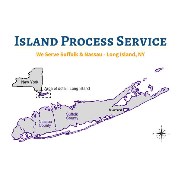 Island Process Service: 1614 5th Ave, Bay Shore, NY