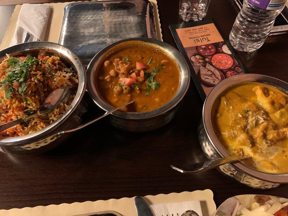 Tulsi Indian Restaurant: 3784 Pkwy, Pigeon Forge, TN