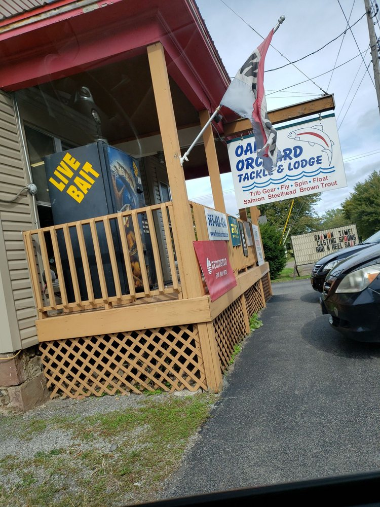 Oak Orchard Tackle and Lodge: 1764 Oak Orchard Rd, Albion, NY
